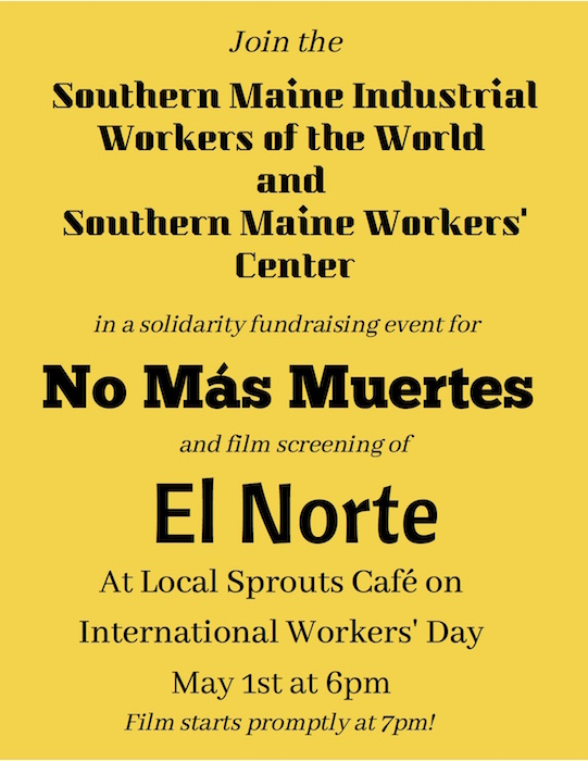 May Day Film and Fundraiser for No More Deaths - Changing